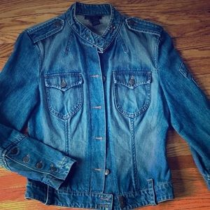 The Limited Fitted Jean Jacket